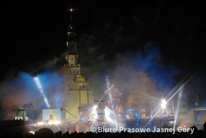 Znalezione obrazy dla zapytania jasna Góra koncert jubileuszowy 2017